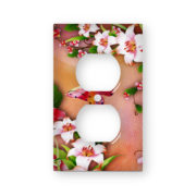 Butterfly Blossoms - AC Outlet Wall Plate Cover