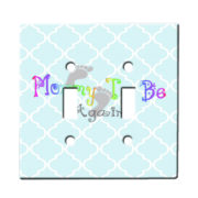 Mommy To Be Again - Dual Gang Switch Plate