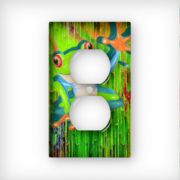Tree Frog Yo - AC Outlet Wall Plate Cover