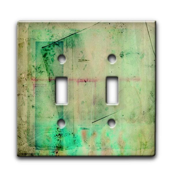 Xray Negative - Dual Gang Switch Plate
