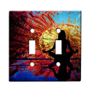Yoga Beach - Dual Gang Switch Plate