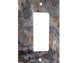 Agate Smokey Scape - 1 Gang Decora Rocker Wall Plate Cover