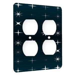 All My Stars - AC Outlet 2 Gang Wall Plate Cover