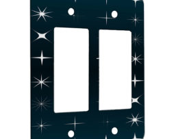All My Stars - 2 Gang Decora Rocker Wall Plate Cover