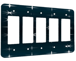 All My Stars - 5 Gang Decora Rocker Wall Plate Cover