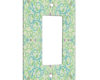 Arabesque Eastern Pattern - 1 Gang Decora Rocker Wall Plate Cover