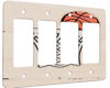 Basketball - 4 Gang Decora Rocker Wall Plate Cover