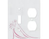 Bride Timeless Procession - AC Outlet Combo Switch Plate 2 Gang Cover