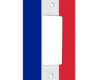 France Flag - 1 Gang Decora Rocker Wall Plate Cover