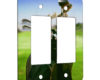 Golf Clubs - 2 Gang Decora Rocker Wall Plate Cover