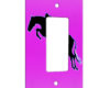 Horse Jumper Pink - 1 Gang Decora Rocker Wall Plate Cover