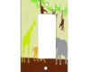 Jungle Art - 1 Gang Decora Rocker Wall Plate Cover