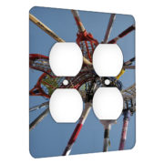 Lacrosse Nets - AC Outlet 2 Gang Wall Plate Cover