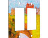 Landscape in Europe - 2 Gang Decora Rocker Wall Plate Cover