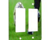 Soccer Kick - 2 Gang Decora Rocker Wall Plate Cover