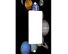 Solar System - 1 Gang Decora Rocker Wall Plate Cover