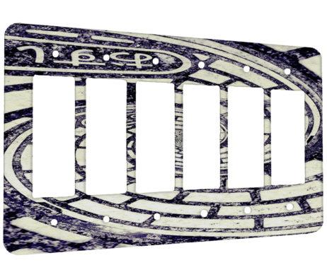 Gang Decora Rocker Wall Plate Cover