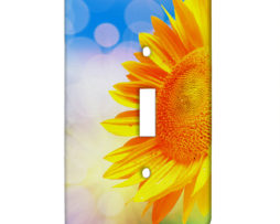 Sunflower Sunshine - Single Gang Switch Plate