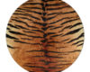 Tiger Stripe - Round Glass Cutting Board