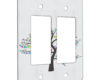 Tree of Hearts - 2 Gang Decora Rocker Wall Plate Cover