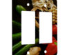Veggies Mushrooms Tomatoes Zucchini - 2 Gang Decora Rocker Wall Plate Cover