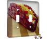 Bacon Taco - 2 Gang Switch Plate