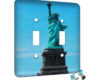 Lady Liberty - 2 Gang Switch Plate