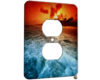 Ocean Waves - 1 Gang AC Outlet Cover Plate
