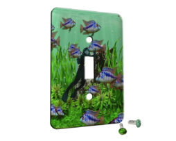 Scuba Fishing - Single Gang Switch Plate