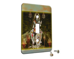 Shiva Lord Hindu God - Single Gang Switch Plate