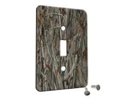 Trees Camouflage - Single Gang Switch Plate