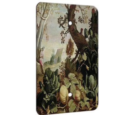 Abraham Bloemaert Garden Painting - 1 Gang Blank Wall Plate Cover