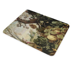 Abraham Bloemaert Garden Painting - Glass Cheese Cutting Board