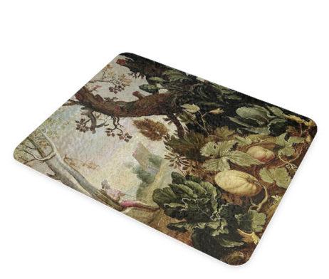 Abraham Bloemaert Garden Painting - Glass Cheese Cutting Board