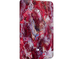 Agate Crazy Lace Red - 1 Gang Blank Wall Plate Cover