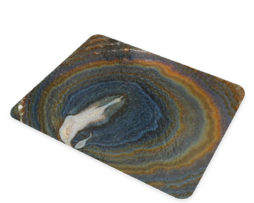 Agate Earthy Hues - Glass Cutting Board