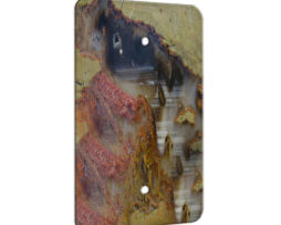 Agate Linear Landscape - 1 Gang Blank Wall Plate Cover