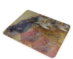 Agate Linear Landscape - Glass Cheese Cutting Board
