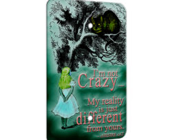 Alice in Wonderland Chesire Cat - 1 Gang Blank Wall Plate Cover