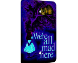 Alice in Wonderland Chesire Here - 1 Gang Blank Wall Plate Cover