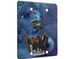 Aliens Beam Me To Mars - 2 Gang Blank Wall Plate Cover