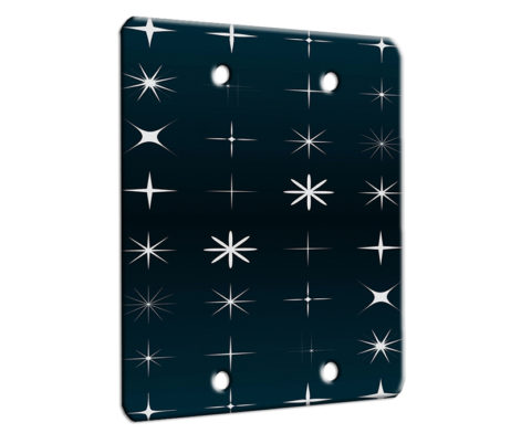 All My Stars - 2 Gang Blank Wall Plate Cover