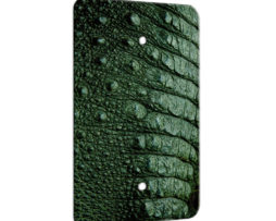 Alligator Tail  - 1 Gang Blank Wall Plate Cover