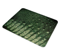 Alligator Texture - Glass Cutting Board