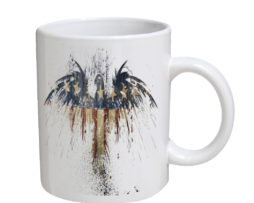 American Flag Eagle Art - 11 oz. White Coffee Mug