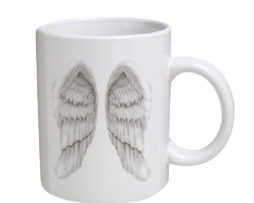 Angel Wings - 11 oz. White Coffee Mug