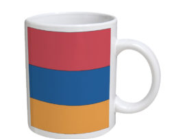 Armenia Flag - 11 oz. White Coffee Mug