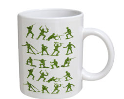 Army Men - 11 oz. White Coffee Mug