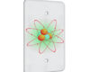 Atom Orange And Green - 1 Gang Blank Wall Plate Cover