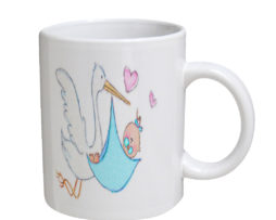 Baby Boy On The Way - 11 oz. White Coffee Mug